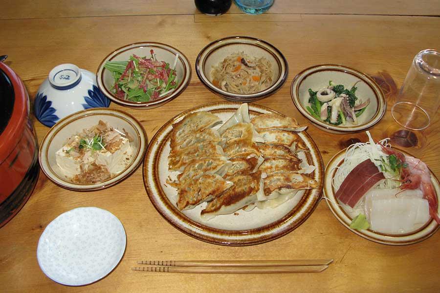 家庭料理の一例