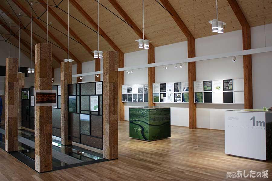 湿原センターの展示物