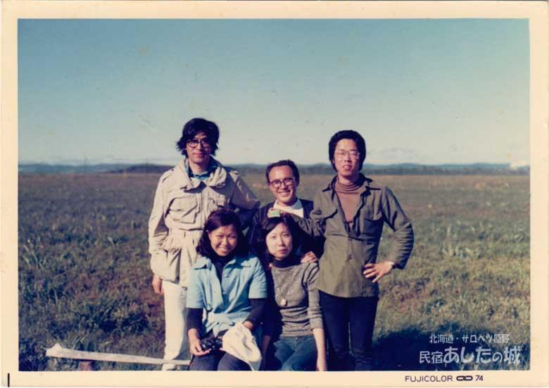 Kさんたちと初めてサロベツ原野を訪れる