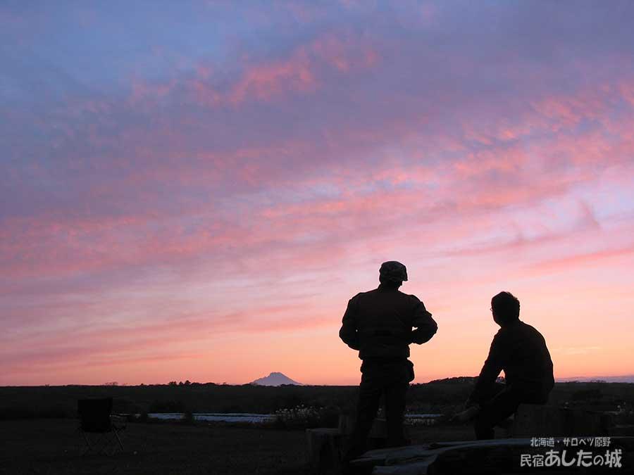 03年6月14日の夕焼け