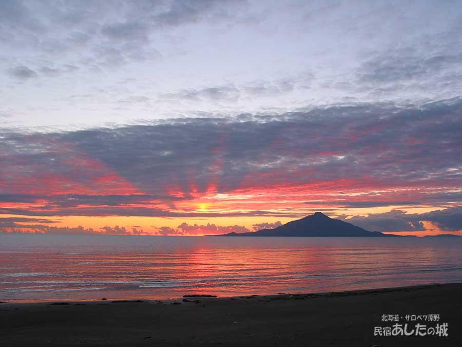 03年9月19日の夕焼け