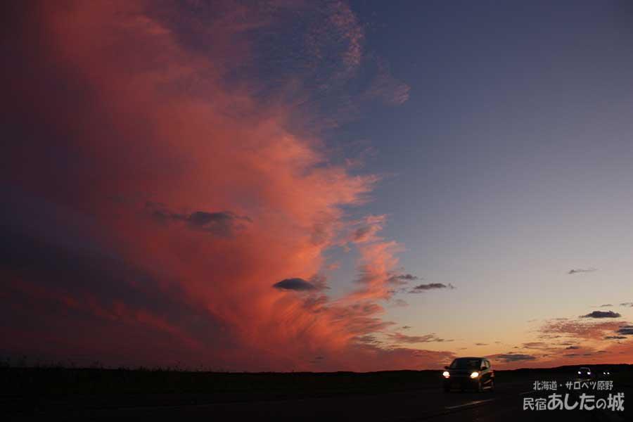 2011年9月19日の夕焼け