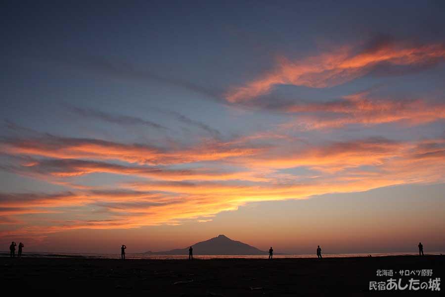 2012年8月16日の夕焼け