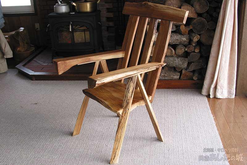 椅子の組み立て完了