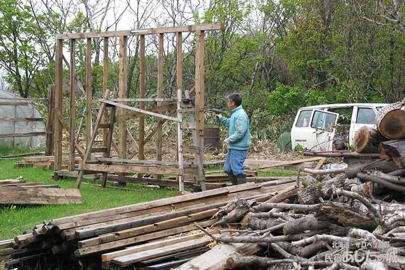 06再開するも新たな障害 | 廃材で作る物置小屋