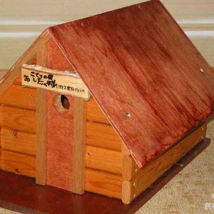 07息子の小屋が先に完成! | 廃材で作る物置小屋