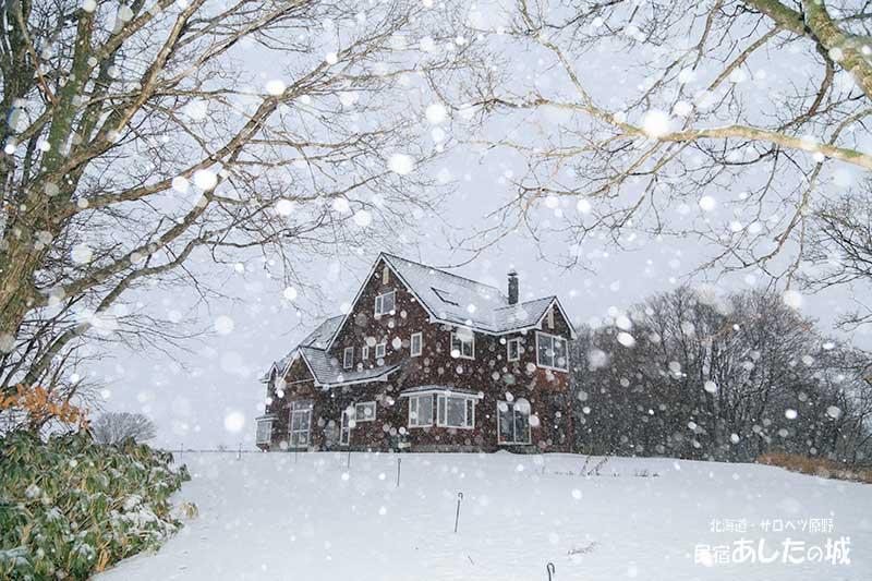雪降る大晦日