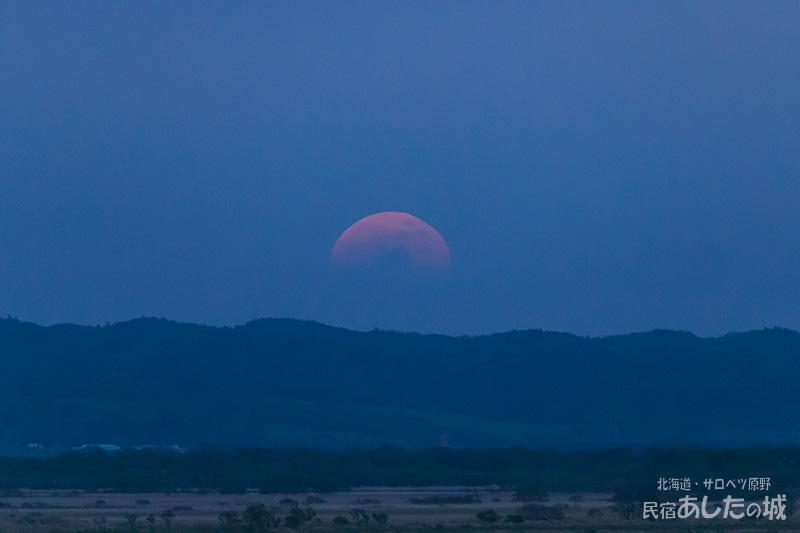 皆既月食の日(19時6分)